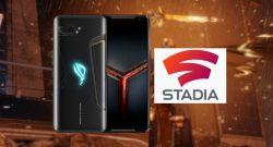Das nächste Gaming Smartphone von Asus bietet Stadia Pro