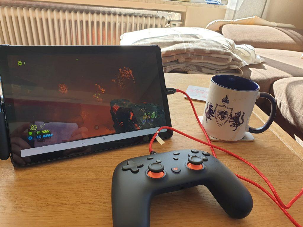 Doom-Stadia-tablet