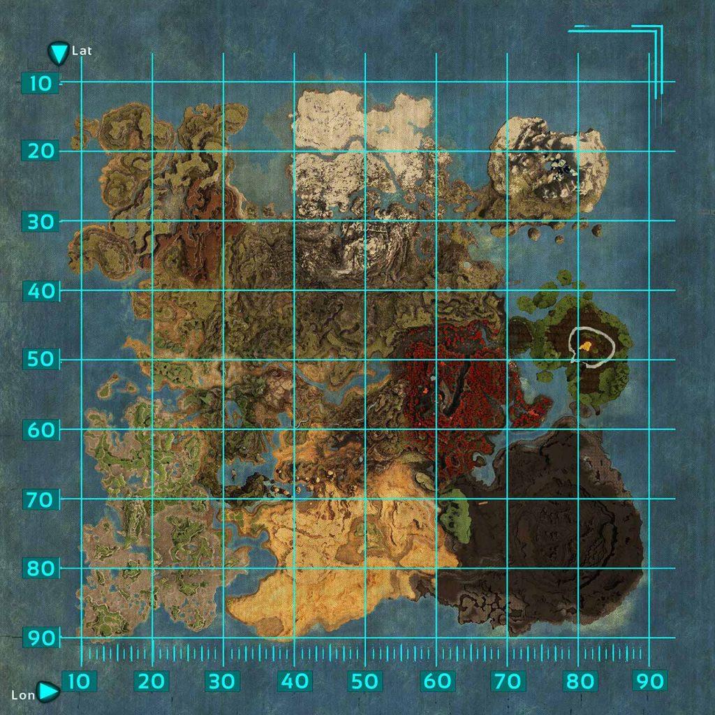 ARK-Crystal-Isles-Map