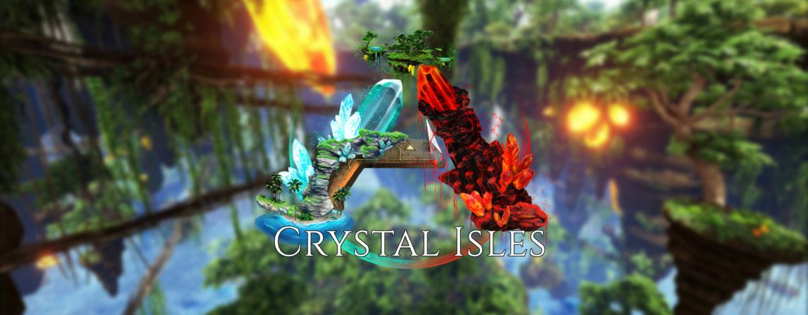 ARK: Beliebte Mod Crystal Isles wird offizielle Map – Ist kostenlos bald für alle verfügbar