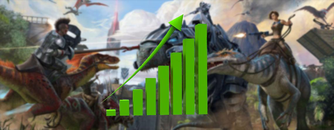 Aus dem Dino-Hype 2015 um Jurassic World, wurde ein MMO, das heute noch auf Steam boomt