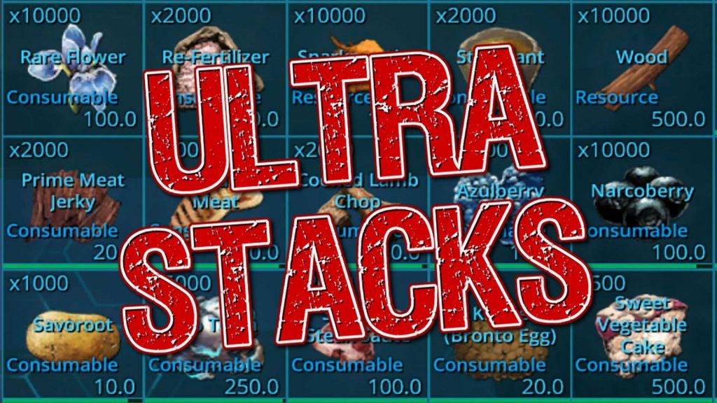 ARK-Ultra-Stacks
