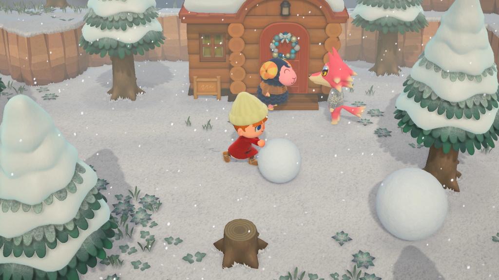 Animal Crossing New Horizons Winter