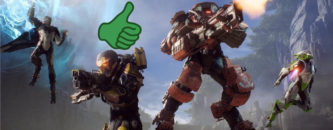 EA verschenkt Anthem an einige Spieler, damit sie während Corona zu Hause bleiben