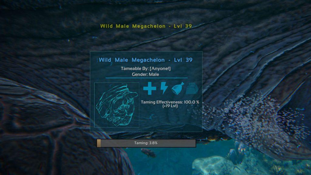 Ark-Genesis-megachelon-zaehmen