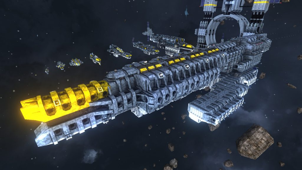 Raumstation in Avorion