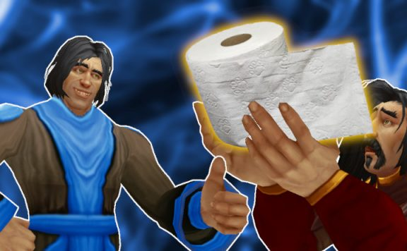 Blizzard Toilet Paper Game Master Yes Human Male Beg titel 1140x445