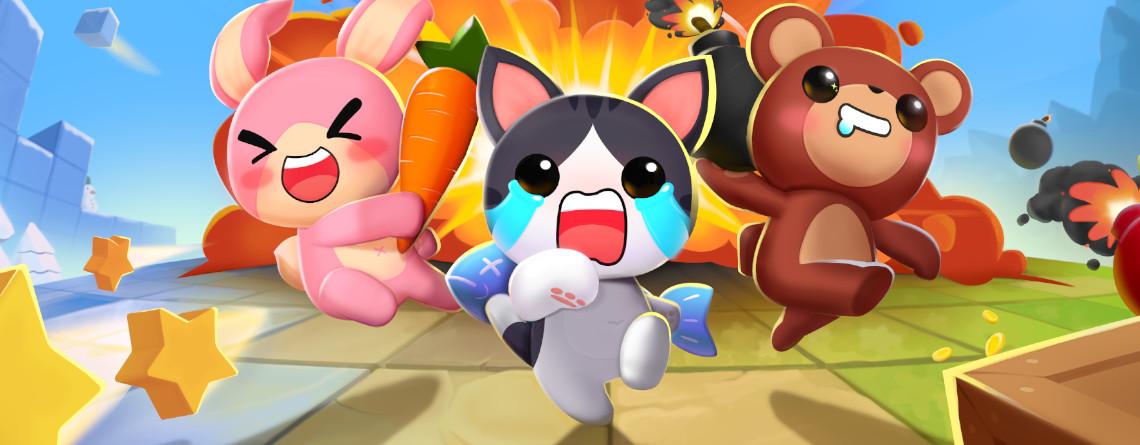 Das wohl witzigste Battle Royale auf Steam ist kostenlos und wie Bomberman