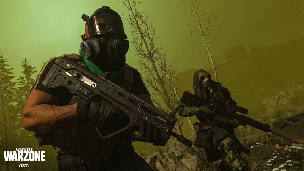 Call fo Duty Modern Warfare Warzone Screen