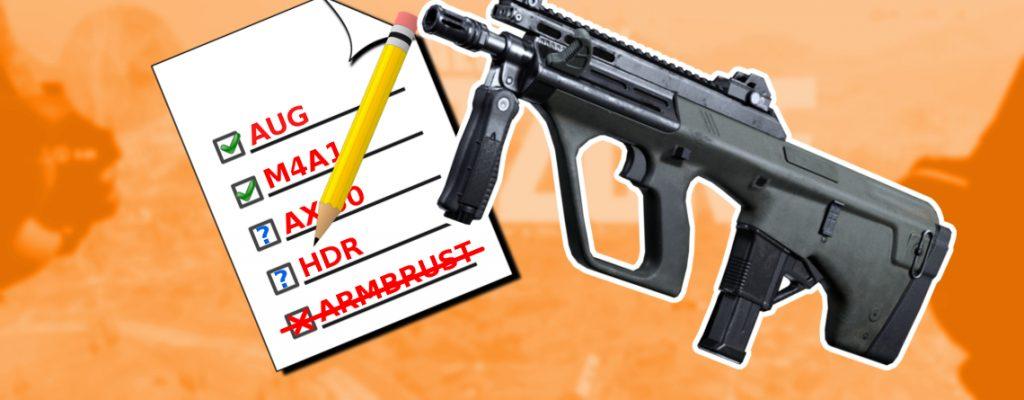 CoD Warzone Beste Waffen Liste Titel AUG