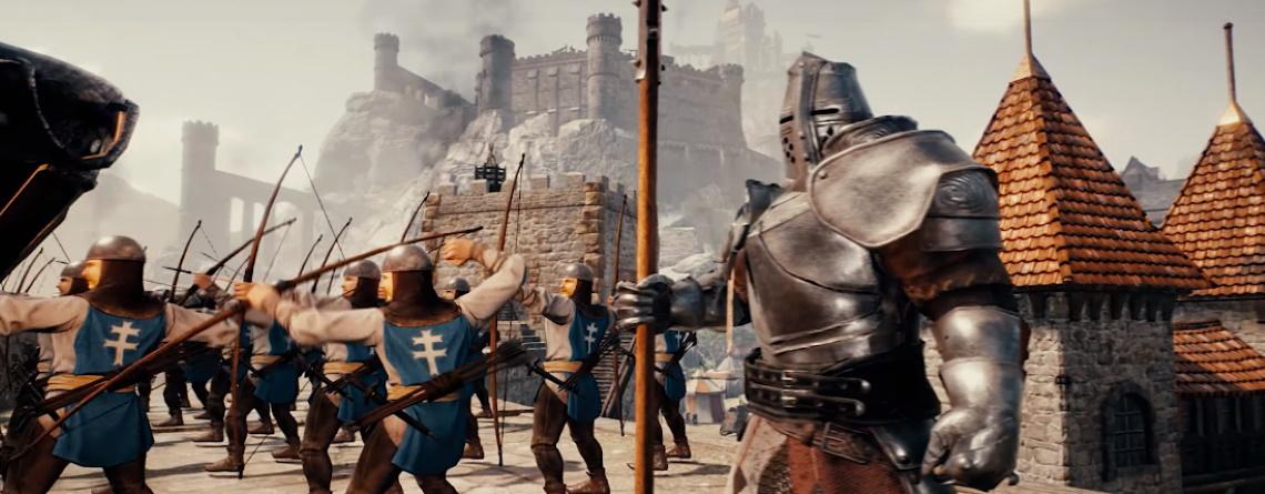 In Conqueror's Blade können die besten Spieler ein Teil der Geschichte des MMOs werden