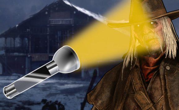 Dead by Daylight Deathslinger Flashlight title 1140x445