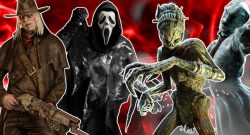 Dead by Daylight Deathslinger Ghost Face Hag Nurse title 1140x445