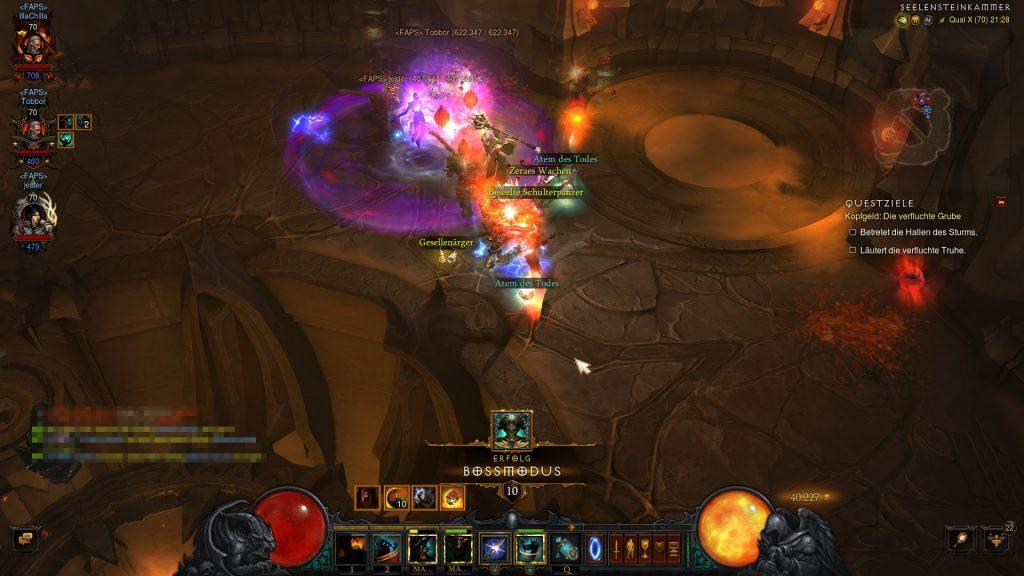 Diablo 3 Bossmodus geschafft