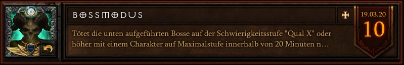 Diablo 3 Bossmodus Season 20
