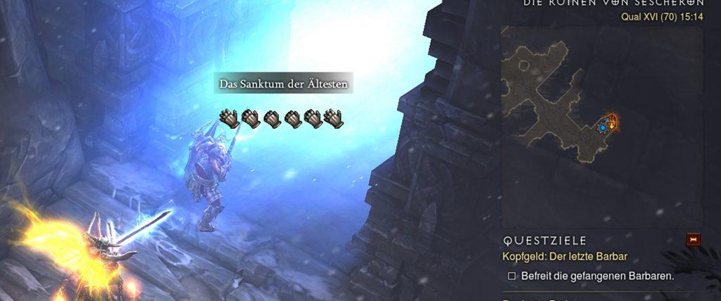 Diablo 3 Sanktum der ältesten