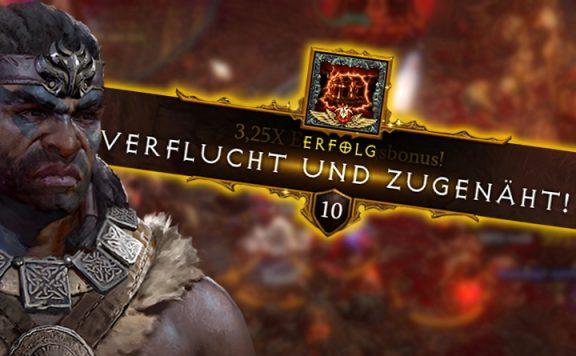 Diablo 3 Verflucht und Zugenäht Titel