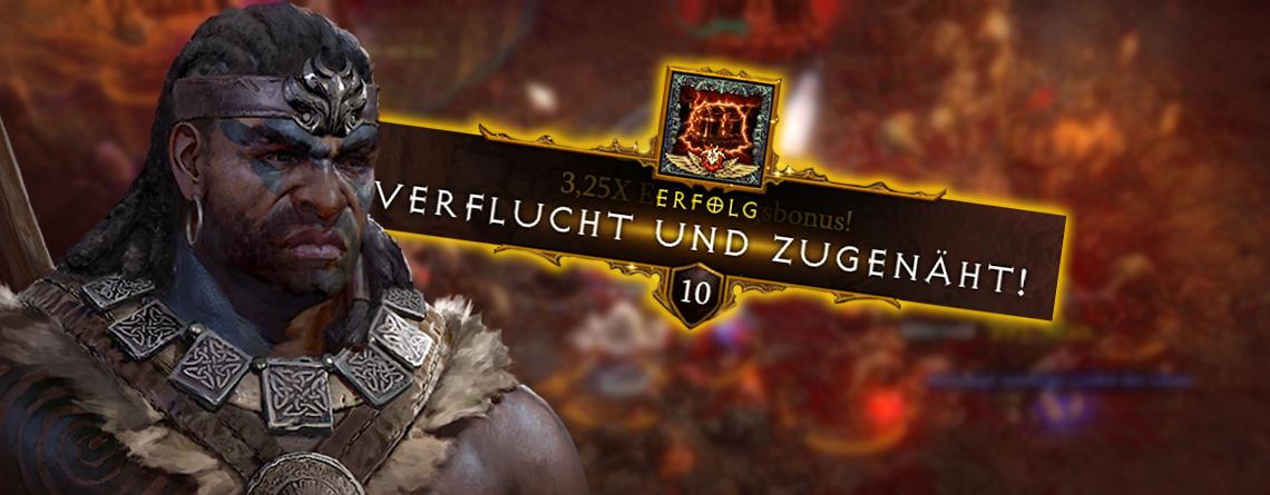 Diablo 3: Verflucht und Zugenäht in Season 20 – So schafft ihr die Errungenschaft