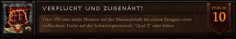 Diablo 3 Verflucht und Zugenäht