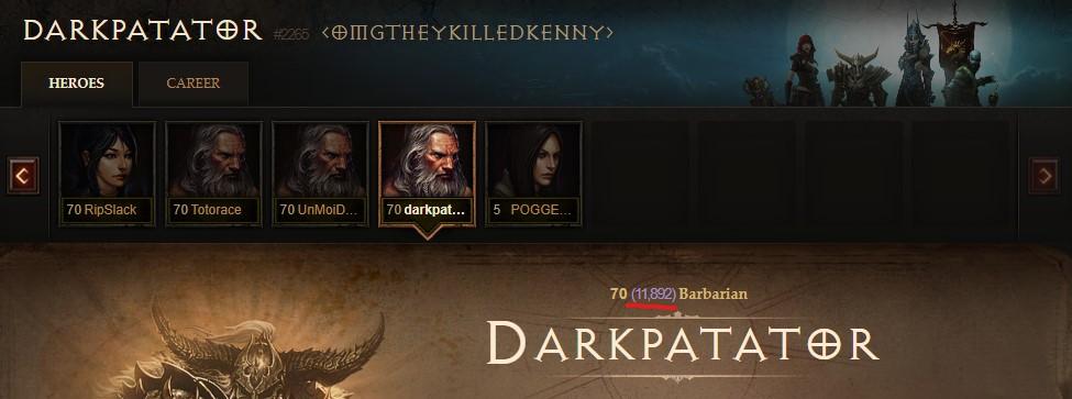 Diablo Twitch Streamer Darkpatator Paragon