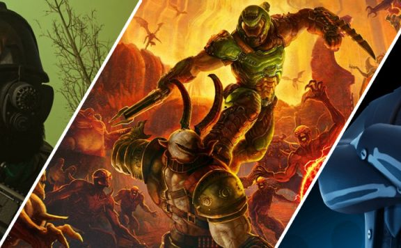 Doom Eternal vs CoD und Fortnite Titel 3