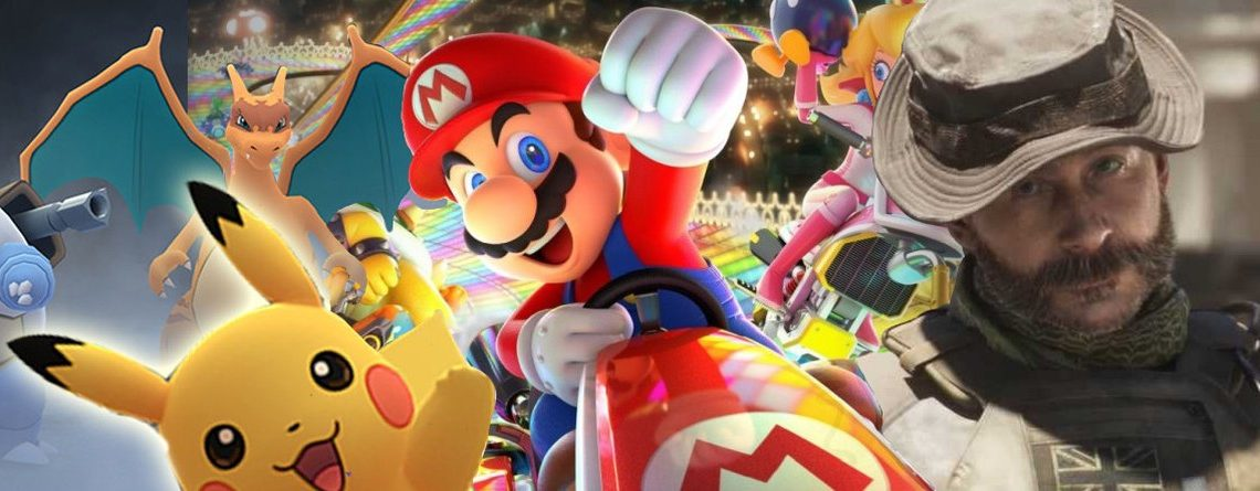 Das sind die 30 erfolgreichsten Videospiel-Franchises aller Zeiten