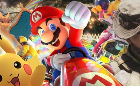 Erfolgreichste Spiele Franchises Mario Pokemon COD Titel