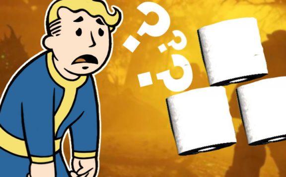 Fallout 76 Toilettenpapier