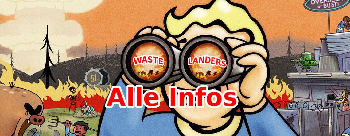 Fallout 76 Wastelanders erscheint heute: Alle Infos zu Release, Beta & Trailer