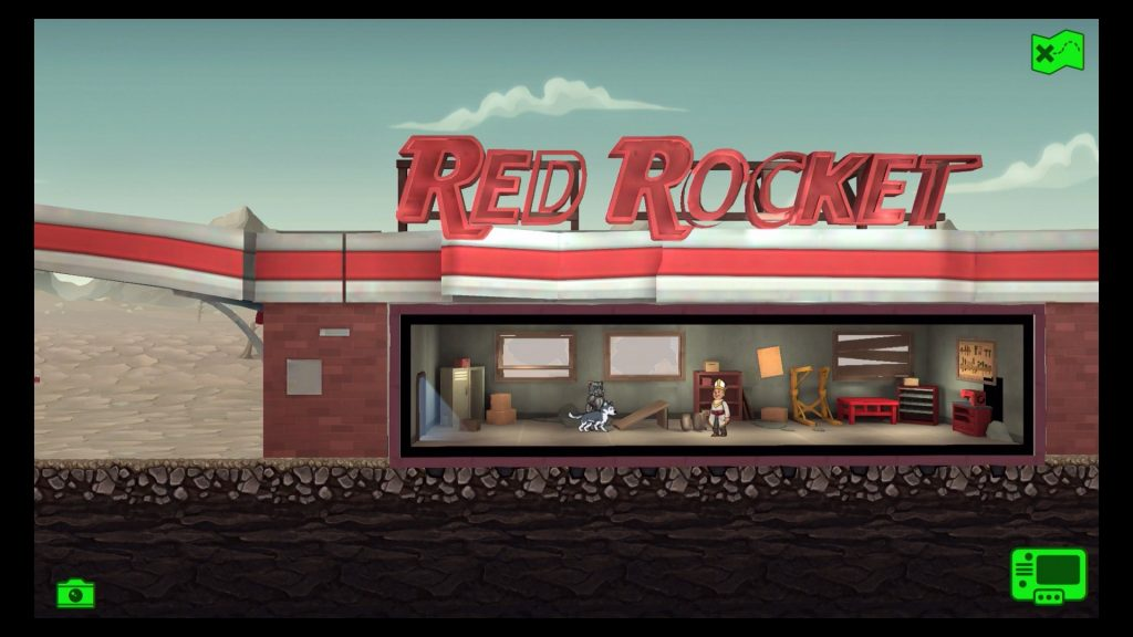 Fallout Shelter Red Rocket