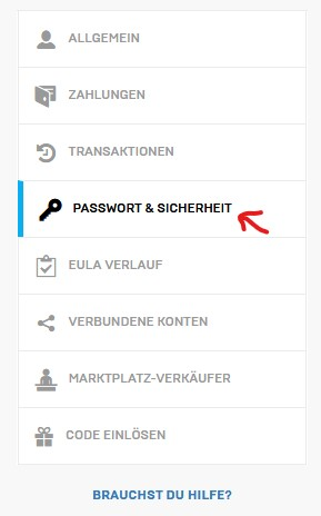 Fortnite 2FA Passwort