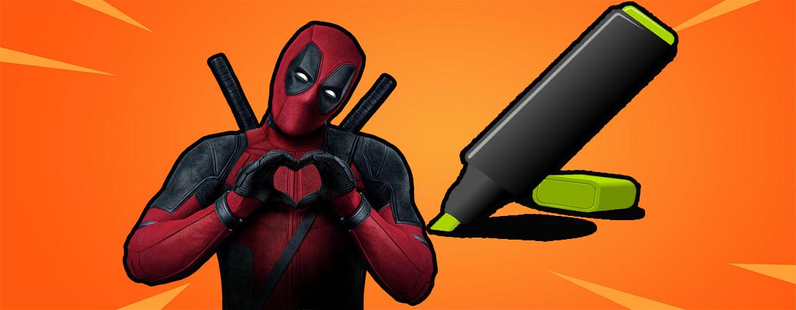 Fortnite: Deadpool Woche 6 – Filzstift finden, Ghost oder Shadow Poster verunstalten