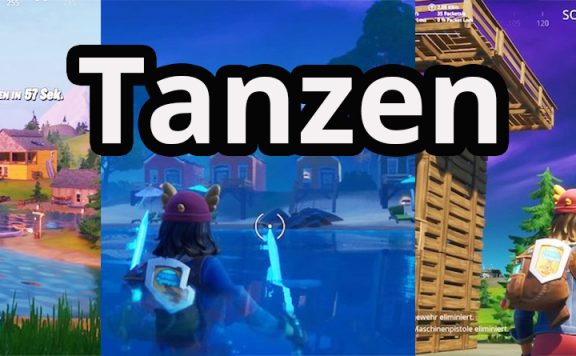 Fortnite tanze bei orte titel
