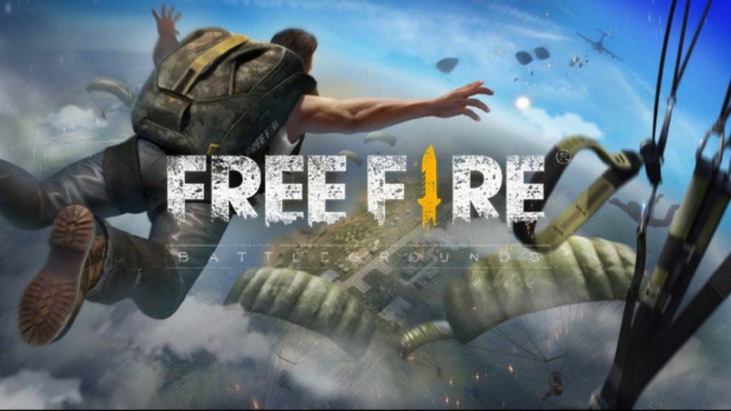 Free Fire Battlegrounds Fallschirm