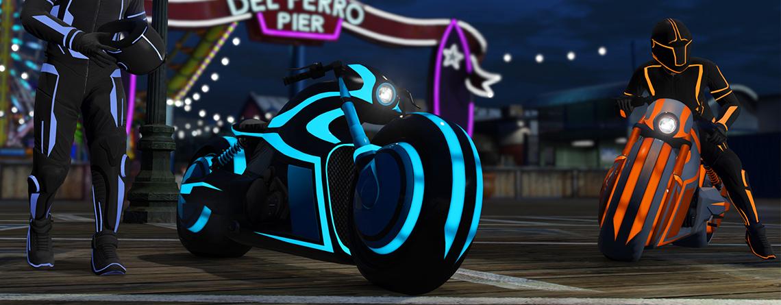 In GTA Online könnt ihr jetzt eins der besten Motorräder gewinnen – aber nur kurz