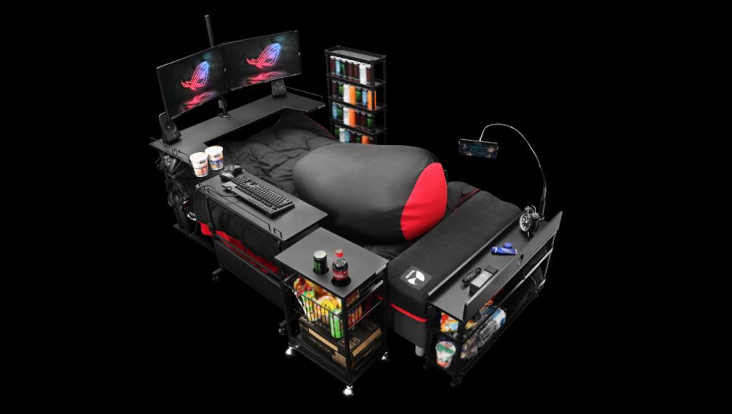 Gaming Bett Bauhutte 2