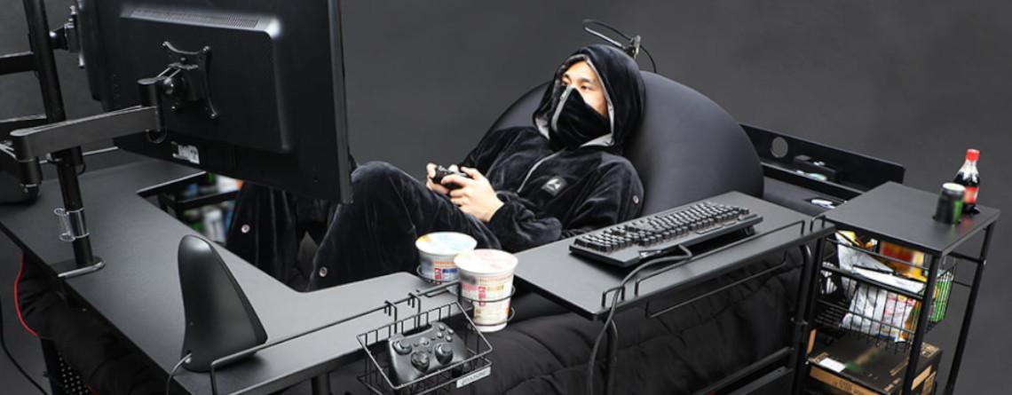 Gaming-Traum wird wahr: Mit diesem Bett müsst ihr nie wieder aufstehen