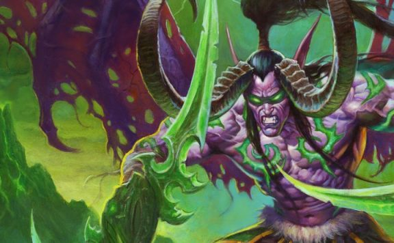 Hearthstone Ashes of Outland Illidan titel 1140x445