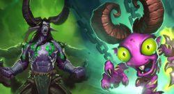 Hearthstone Illidan Demon Hunter Murloc title 1140x445
