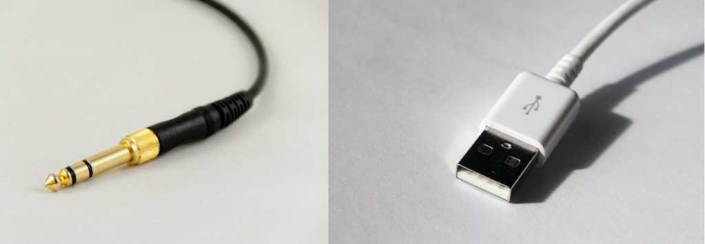 Klinke und USB