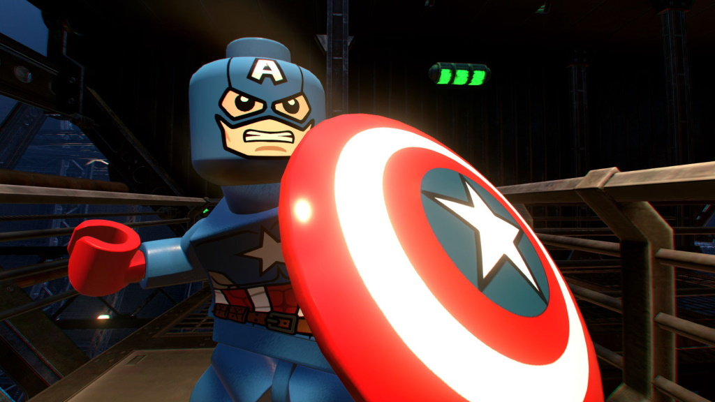Lego Marvel Superheroes 2 Captain America
