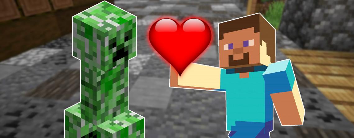 Minecraft: Warum Creeper manchmal eure besten Freunde sind