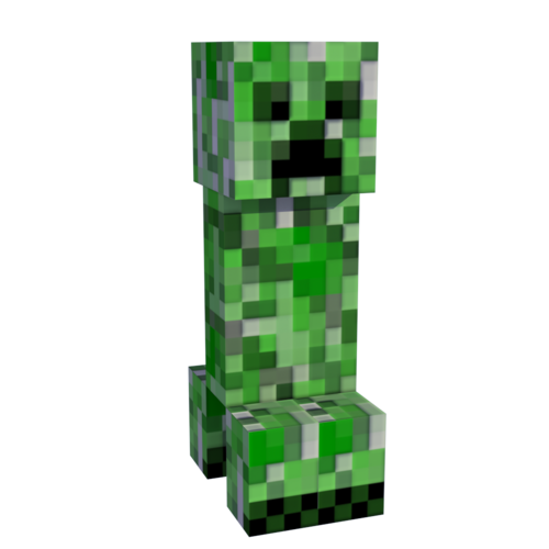 Minecraft Creeper Trans