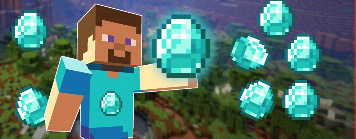Minecraft Guide: Diamanten finden – So farmt ihr am schnellsten