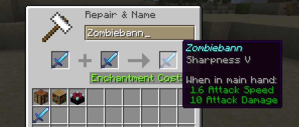Minecraft Enchanting Guide Sharpness V