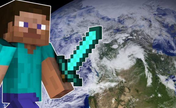 Minecraft Erde titel 1140x445