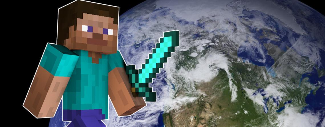 Minecraft: Verrückte Mod erschafft die ganze Erde im Maßstab 1:1 – So sieht's aus