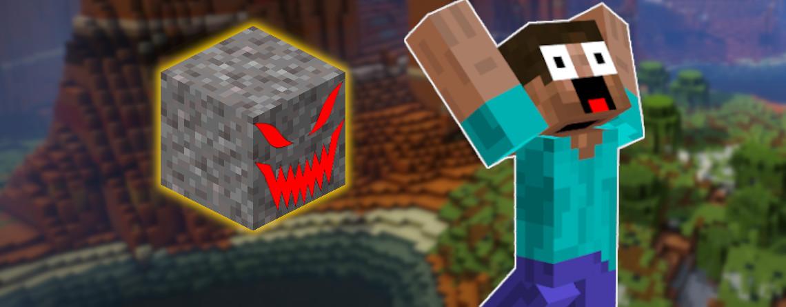 Minecraft: Diese natürliche Kies-Todesfalle beeindruckt tausende Fans