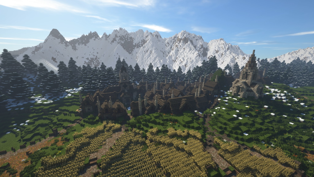 Minecraft MMORPG Hegemony Welt