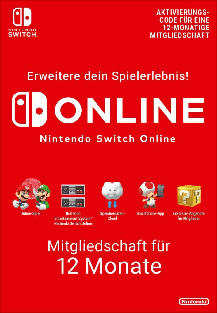 Nintendo Switch Online Abo